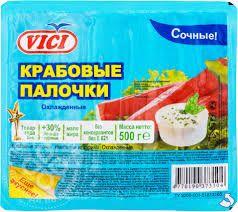 Крабовые палочки VICI 500 гр.