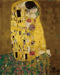 Картина по номерам «Поцелуй Густав Климт» 40x50 см