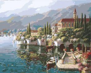 Картина по номерам «Отражение Вероны» 40x50 см