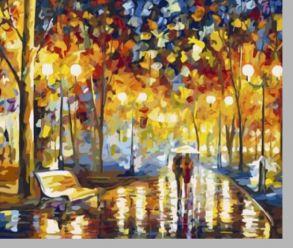 Картина по номерам  «Шорох дождя» 40x50 см