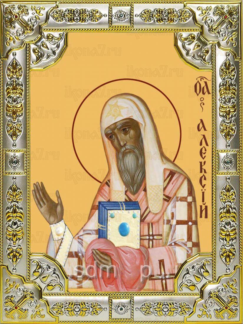 Икона Алексий Московский митрополит (18х24)