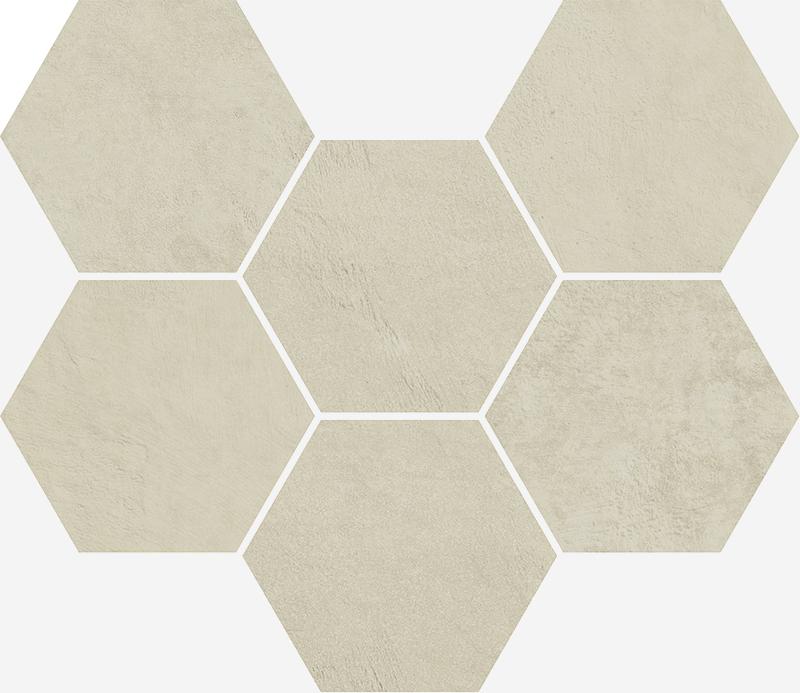 Мозаика 25x29 ТЕРРАВИВА  ГЕКСАГОН