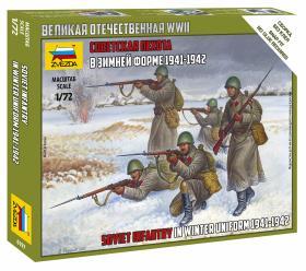 6197 Сов.пехота в зимней форме