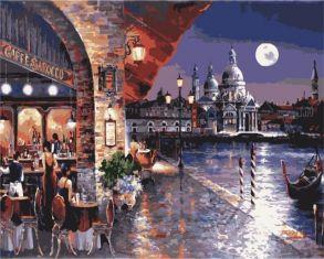 Картина по номерам «Кафе Барокко» 40x50 см