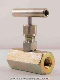 Клапан запорный стальной 15с54бк DN15 PN160 кг/см2