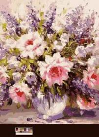 Картина по номерам «Дачный букет» 40x50 см