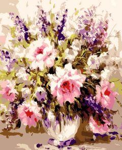 Картина по номерам «Воздушные розы» 30x40 см