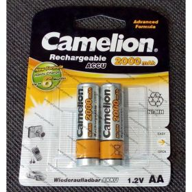 Camelion ACCU 2000mAh 1.2 V AA /2/ В УП 2 ШТ, ЦЕНА ЗА 1 ШТ