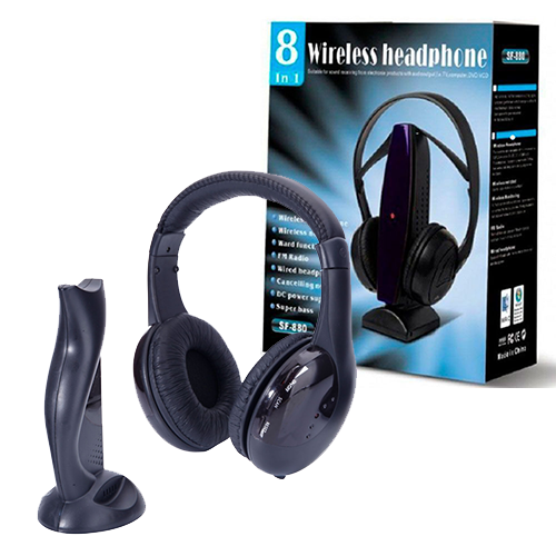 Беспроводные наушники WIRELESS HEADPHONE 8 in 1
