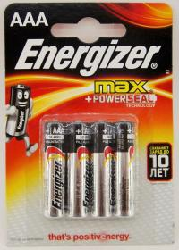 Energizer max LR03 (4)цена за 1 шт