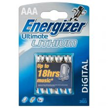 Energizer ultimate lithium AAA /4/48/ цена за 1 шт