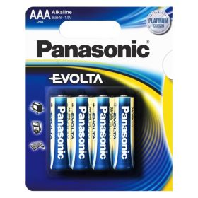 Panasonic Alkalaine EVOLTA LR03 (4)цена за 1 шт