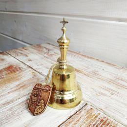 Валдайский колокольчик с ручкой №5 с брелком