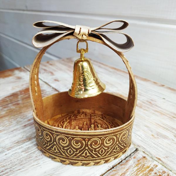 Валдайский колокольчик в корзинке