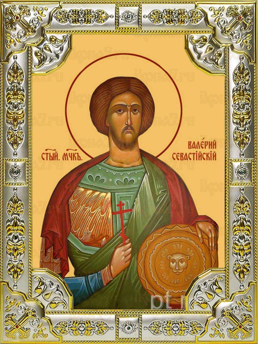 Икона Валерий Севастийский мученик (18х24)