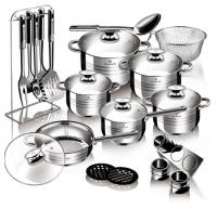 Набор посуды BERLINGER HAUS ВL-3197 Gourmet Line 15 пр.