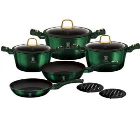 Набор посуды BERLINGER HAUS BH-6065 Emerald Collection 10 пр.