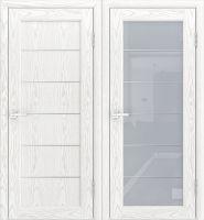 Межкомнатная дверь лига «модерн 3» со стеклом