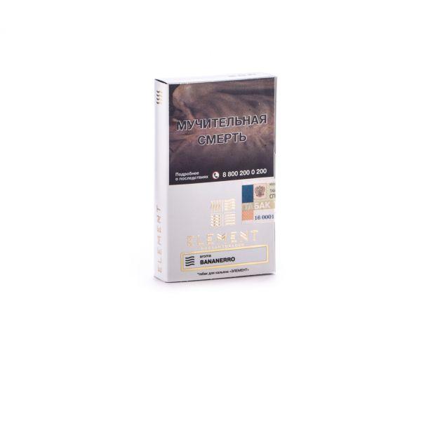 Табак Element Воздух – Bananerro (Бананерро, 40 грамм)