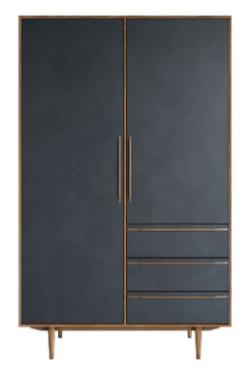 Шкаф платяной Bruni Black