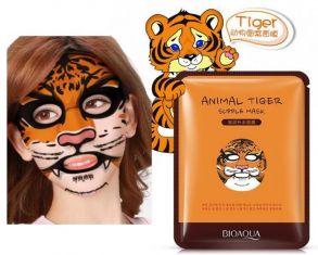 Питательная тканевая маска для лица Animal Face Tiger BioAqua