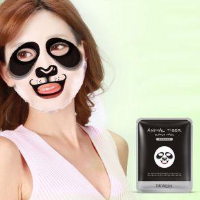 Маска Animal Face Panda BioAqua со смягчающими компонентами 30 гр
