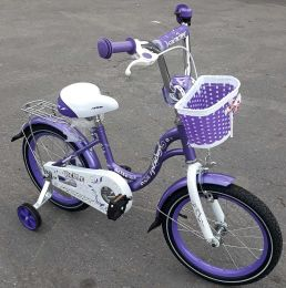 Детский велосипед Rook Belle Purple 18