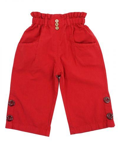 Бриджи для девочек 3-7 лет Bonito OP865 красные