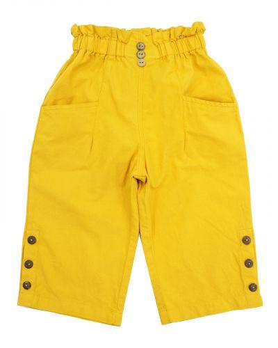 Бриджи для девочек 3-7 лет Bonito OP865 желтые