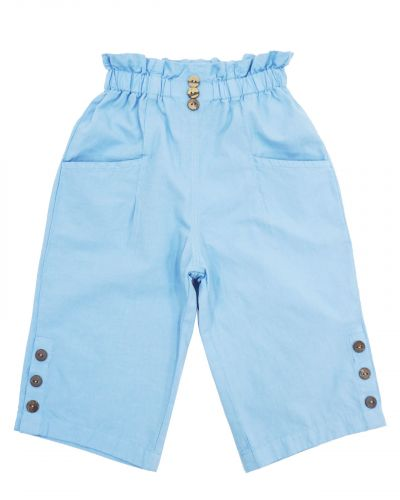 Бриджи для девочек 3-7 лет Bonito OP865 голубые