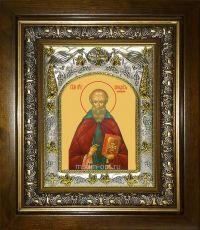 Икона Венедикт Нурсийский преподобный (14х18)