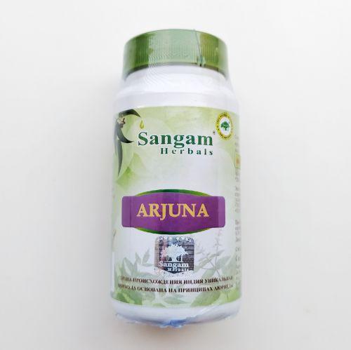 Арджуна 750 мг | Arjuna | 60 таб. | Sangam Herbals