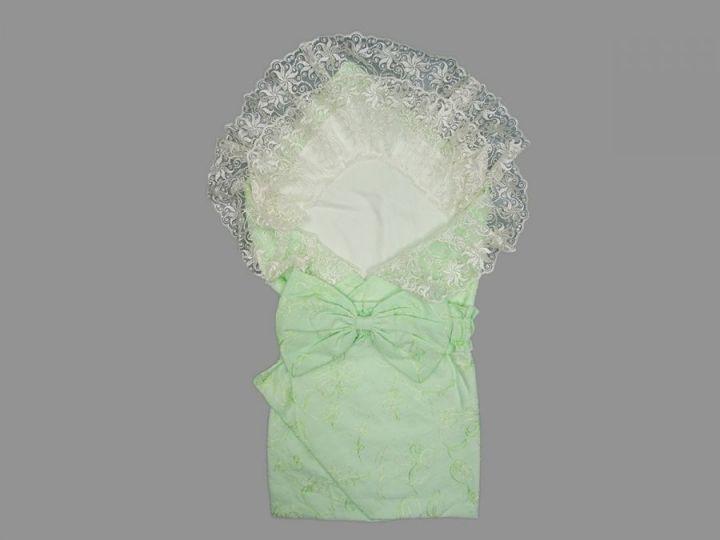 Комплект для новорожденных 5 пред. 5-KM001(b)-BA (батист салатовый)