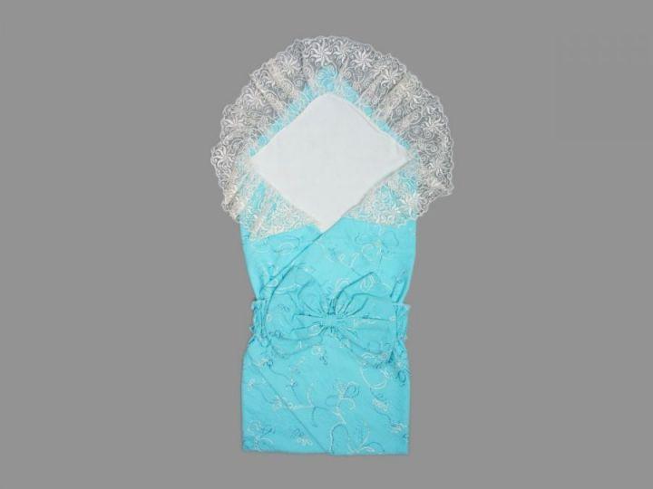 Комплект для новорожденных 5 пред. 5-KM001(b)-BA (батист голубой)