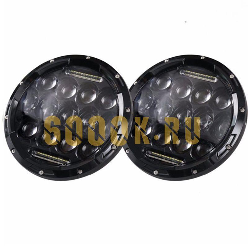 Светодиодные фары головного света 7 дюймов 150Вт с ДХО