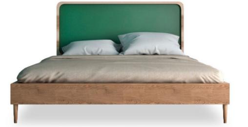Кровать двуспальная Ellipse