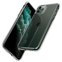 Купить чехол Spigen Quartz Hybrid для iPhone 11 Pro Max прозрачный чехол для Айфон 11 Про Макс в Москве в интернет магазине аксессуаров для смартфонов elite-case.ru
