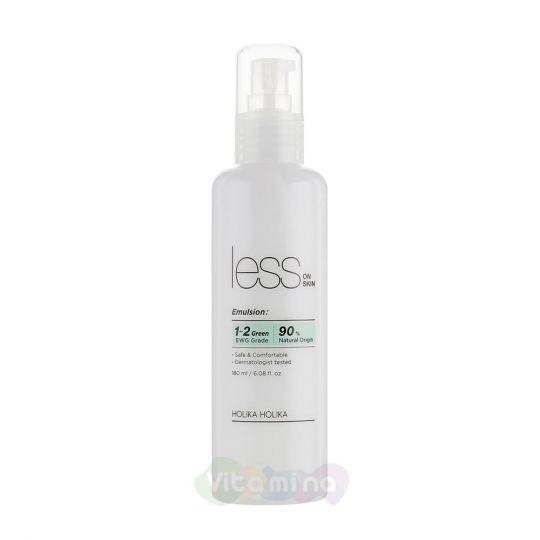 Holika Holika Увлажняющая эмульсия против покраснений и акне Less On Skin Emulsion, 180 мл