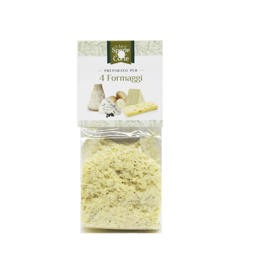 """Специи """"4 сыра"""" 50 г, La Corte d'Italia. Le spezie 4 formaggi 50 g."""