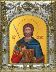 Икона Виктор Никомидийский мученик (14х18)