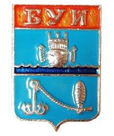 Герб города БУЙ v2 - Костромская область, Россия