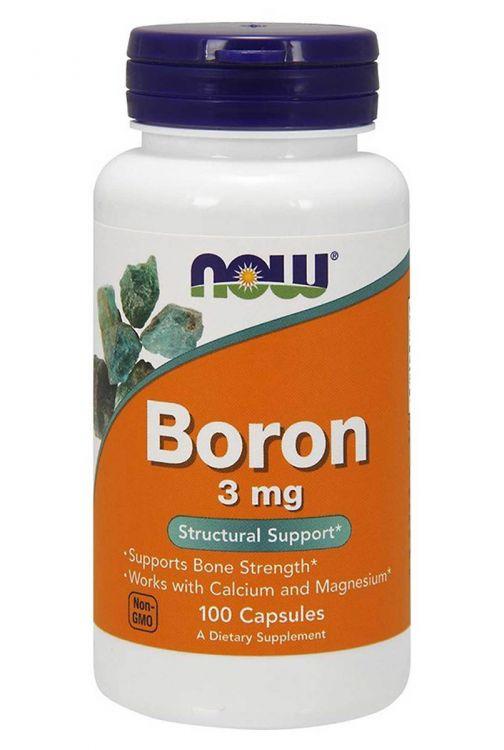 Boron 3 mg от NOW (100 кап)