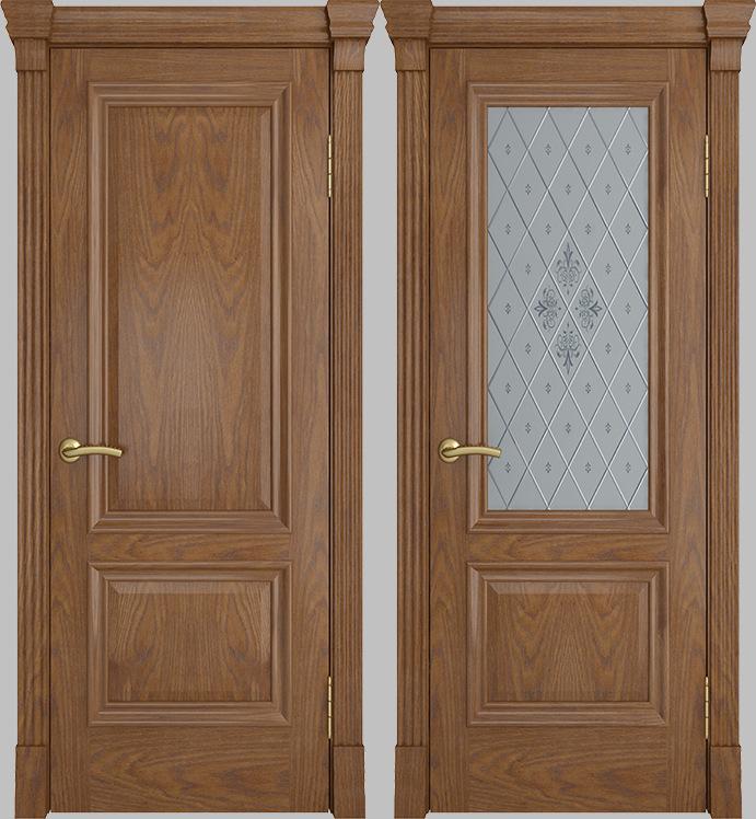 Ульяновская Межкомнатная дверь Элегант широкий Багет