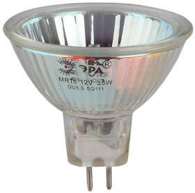 Лампа галогенная ЭРА GU5.3 50W 2700K прозрачная GU5.3-JCDR (MR16) -50W-230V-CL