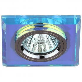 Встраиваемый светильник ЭРА Декор DK8 CH/PR