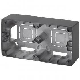 Коробка для накладного монтажа 2-постовая ЭРА 12 12-6102-05