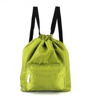Пляжная сумка-рюкзак с отделением для мокрых вещей, 30х40 см, зелёный