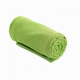 Охлаждающее полотенце Chill Mate Instant Cooling Towel, салатовый