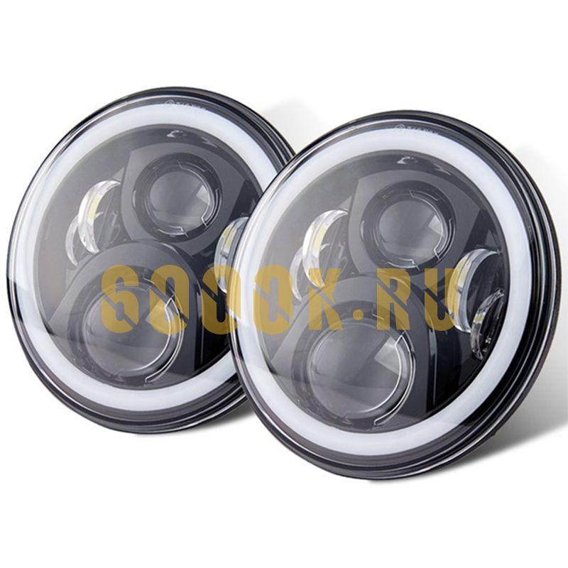 Светодиодные фары головного света 7 дюймов 130Вт с ДХО
