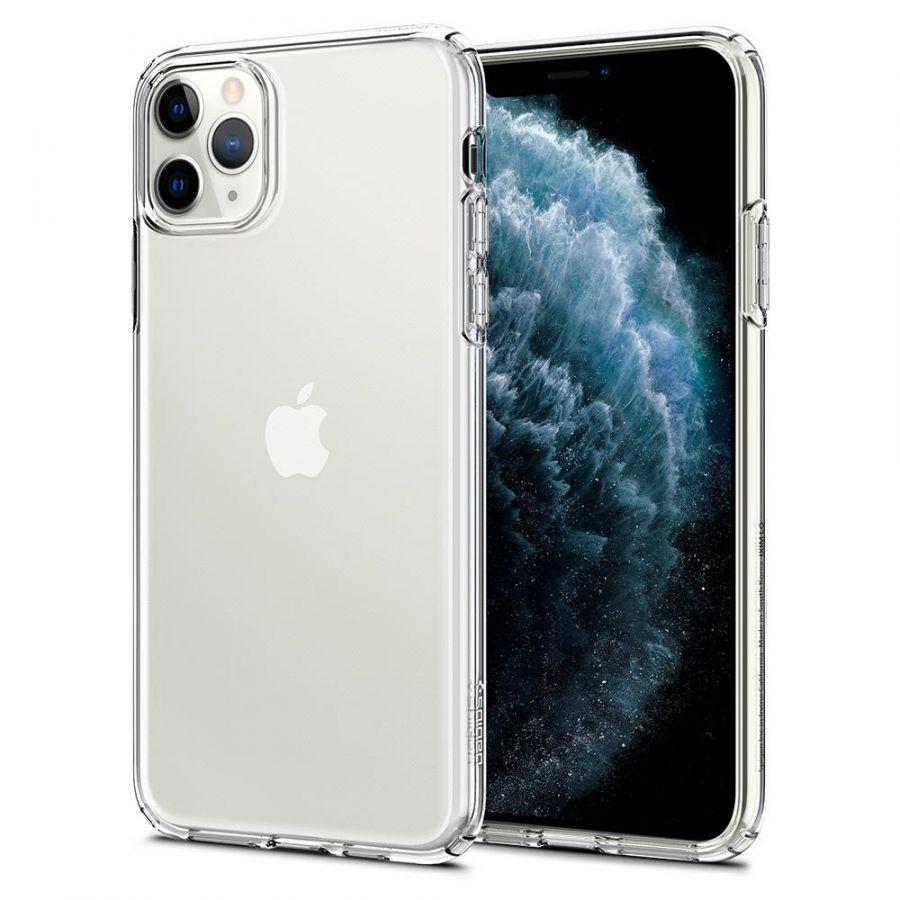 Чехол SGP Spigen Liquid Crystal для iPhone 11 Pro Max кристально-прозрачный